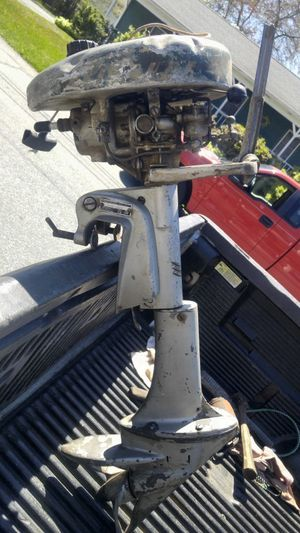 Antique Evinrude outboard for Sale in New Bedford, MA