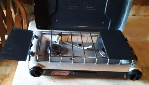 Coleman camping stove