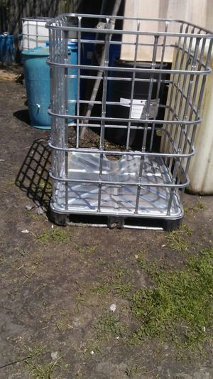 Metal container cages for sale for Sale in Detroit, MI
