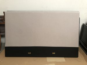 King upholstered beige headboard for Sale in Orange, CA
