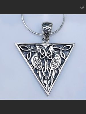 NWT Sterling Silver Celtic Bird Pendant for Sale in Arbovale, WV