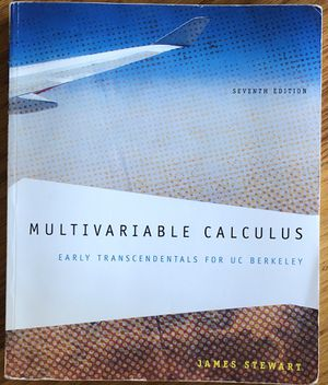 Multivariable Calculus: Early Transcendentals for UC Berkeley for Sale in San Jose, CA