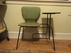 Antique Telephone Chair / End Table for Sale in Chicago, IL