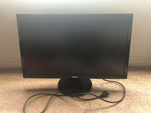 """ASUS 20"""" LCD Computer Monitor With Built In Speakers for Sale in Ocean Springs, MS"""