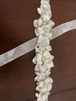 Bling belt for waist wedding dress for Sale in Auburndale, FL