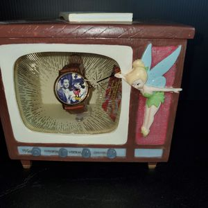 Walt Disney's Wonderful World Of Color Limited Edition Watchin Porcelain TV Case for Sale in Upland, CA