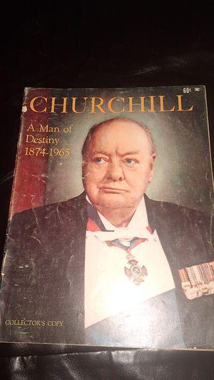 Churchill magazine for Sale in KINGSVL NAVAL, TX