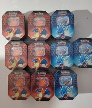 Pokemon Hidden Fates Tins Sealed for Sale in Tampa, FL