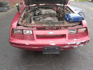 1986 mustang 5.0 stick needs fuel pump plus glass for Sale in Garfield Heights, OH