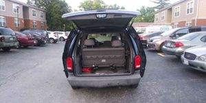 2000 Chrysler Voyager four-cylinder runs great ice cold AC no damage clean title tags and insured seven passenger van with brand new tires and new to for Sale in Jennings, MO