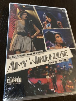 Amy Winehouse Live In London import sealed for Sale in Seattle, WA