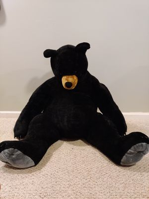 3ft when sitting Melissa and Doug plush bear stuffed animal for Sale in Manassas, VA