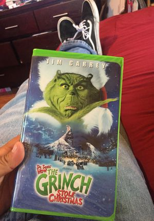 How The Grinch Stole Christmas VHS Green Case for Sale in Los Angeles, CA