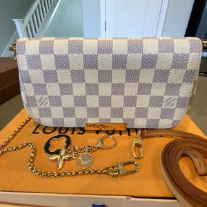 Louis Vuitton Favorite MM Damier Azur for Sale in Modesto, CA