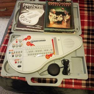 Vintage Suzuki Omnichord Om 84 Works Great for Sale in Snohomish, WA