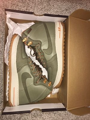 Nike Air Force 1 hi dcns military boot sz 8 for Sale in Pittsburgh, PA