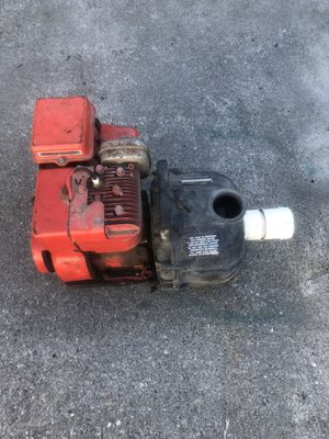 5 hp home lite water pump 16 GPM for Sale in Arlington, WA
