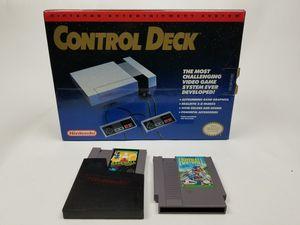 Original Nintendo in the box (control deck version for Sale in Tucker, GA