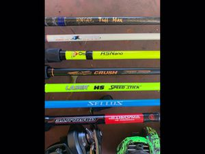 Fishing gear trying to down size for Sale in Metairie, LA