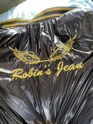 Real robins jean jacket for Sale in Detroit, MI