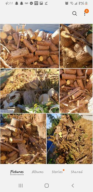 Cedar wood! Use for firewood or projects for Sale in Tacoma, WA