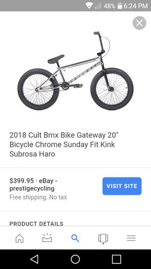 Cult bmx bike for Sale in Bend, OR