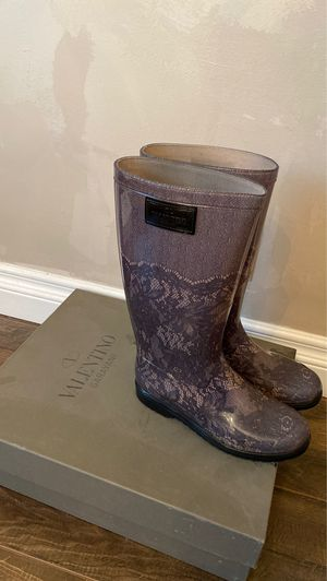 Valentino Rain boots 37 for Sale in Los Angeles, CA