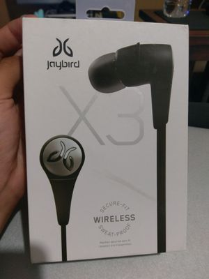 Jaybird X3 Wireless Sport Headphones Bluetooth Smartphone waterproof for Sale in Houston, TX