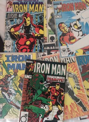 Collection of 15 Iron Man Comics 80s Marvel for Sale in Potomac, MD