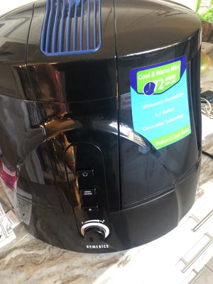 NEW Homedics humidifier 72' run time (cool & WARM air) for Sale in Peachtree Corners, GA