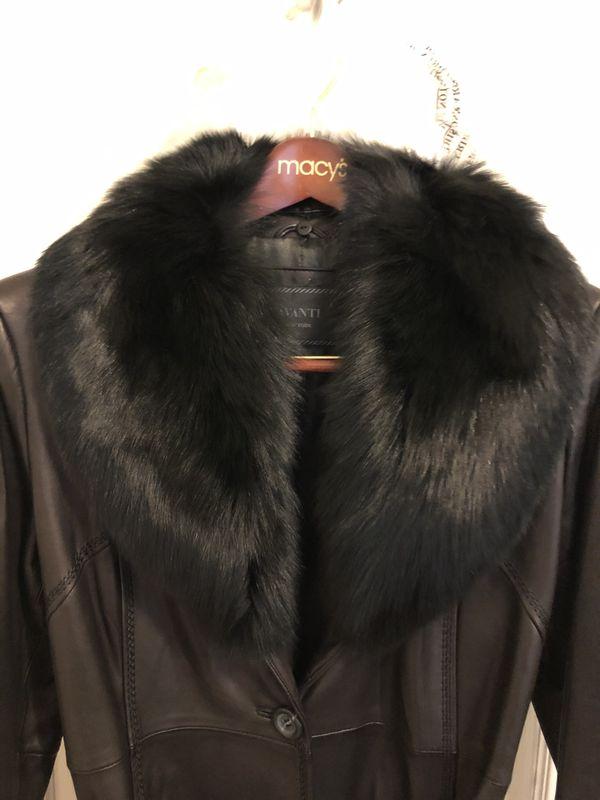 Women Leather Maxi