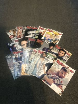 18 Rolling Stones and 1 People Magazines for Sale in Worcester, MA