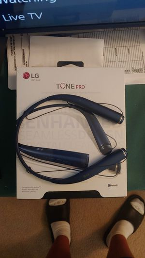 LG Tone Pro Bluetooth Headphones for Sale in Osprey, FL