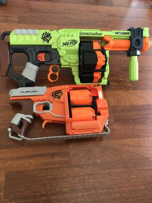 Nerf Zombie Strike Guns for Sale in Orlando, FL