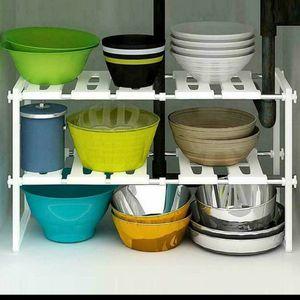2 Tier Stackable Adjustable Shelf for Sale in Philadelphia, PA