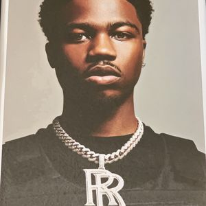 Roddy Ricch Print And Poster In Glass Frame for Sale in La Puente, CA