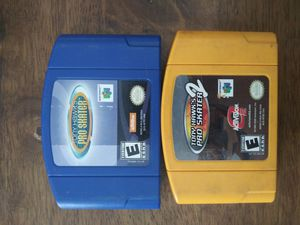 N64 Tony Hawk Games for Sale in Stickney, IL