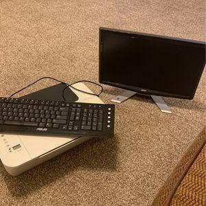 Monitor, Printer, Keyboard for Sale in Edmond, OK
