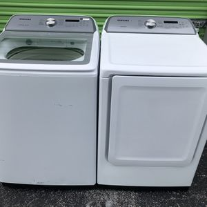 Washer And Dryer Brand New Scratch And Dents Warranty for Sale in Doral, FL