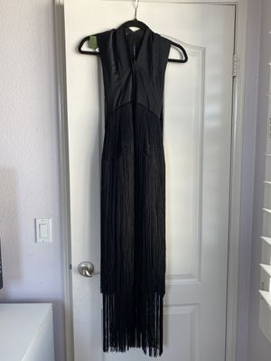 Black Fringe Dress for Sale in Murrieta, CA