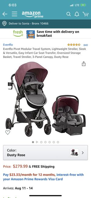 Evenflo stroller for Sale in The Bronx, NY