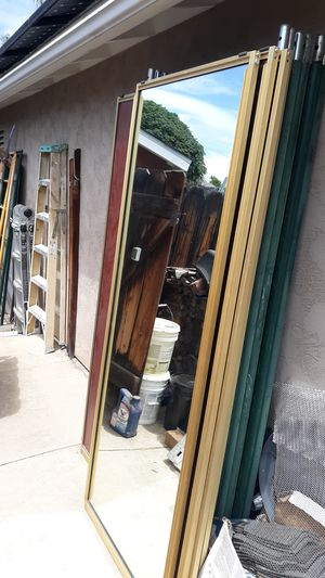 Mirrored closet bypass doors for Sale in Santee, CA