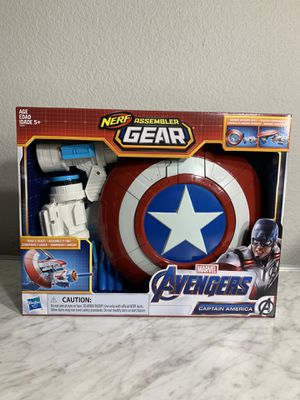Marvel Avengers Endgame Nerf Captain America Assembler Gear New and Sealed for Sale in Reno, NV
