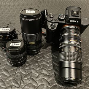 SONY A7Rii Camera Package for Sale in Los Angeles, CA