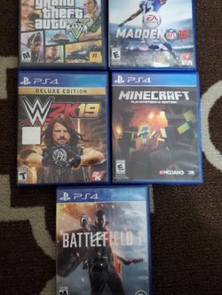 Ps4 Games 10$ Each for Sale in Modesto,  CA