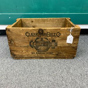 Vintage Clark Bros Bolt Co. Wooden Crate for Sale in Silver Spring, MD