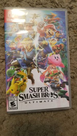 Nintendo switch super smash bros ultimate for Sale in Las Vegas, NV