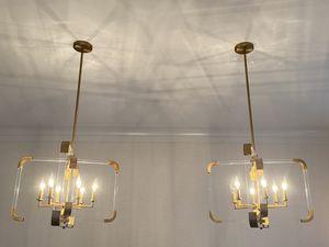 Shades of Light - Triple Cross Chandelier for Sale in Greenwich, CT