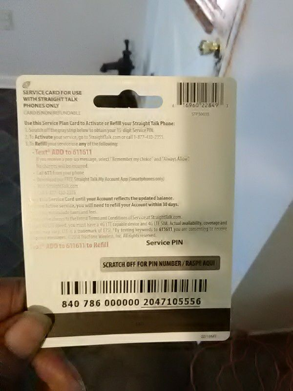 Straight talk prepaid card for Sale in North Charleston, SC - OfferUp