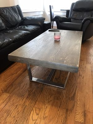 Living room set: Coffee table tv stand end table for Sale in Tampa, FL